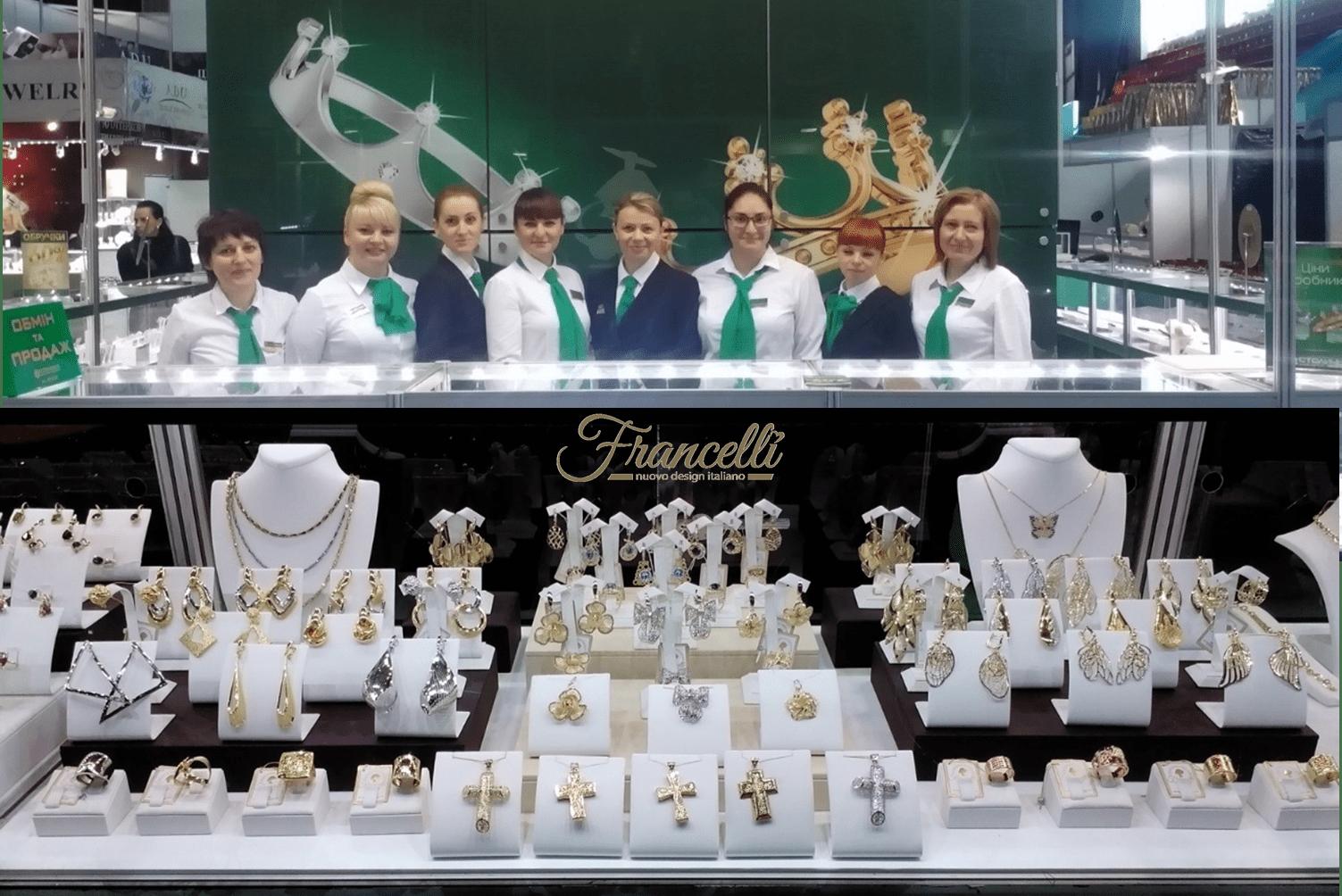 Лимитированная коллекция украшений TM Francelli уже в продаже!