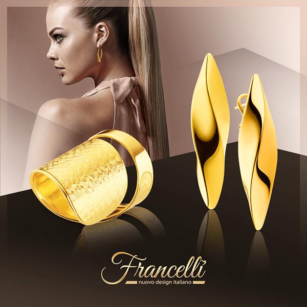 """ТМ """"Francelli»: королівські італійські прикраси для справжньої леді"""